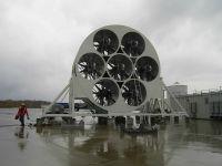 Installation of a wind simulator