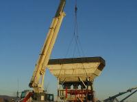 Installation of industrial bin