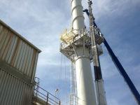 Gateway Installation on chimney
