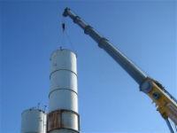 Installation of silos