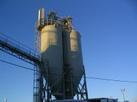 Installation of silos and its components